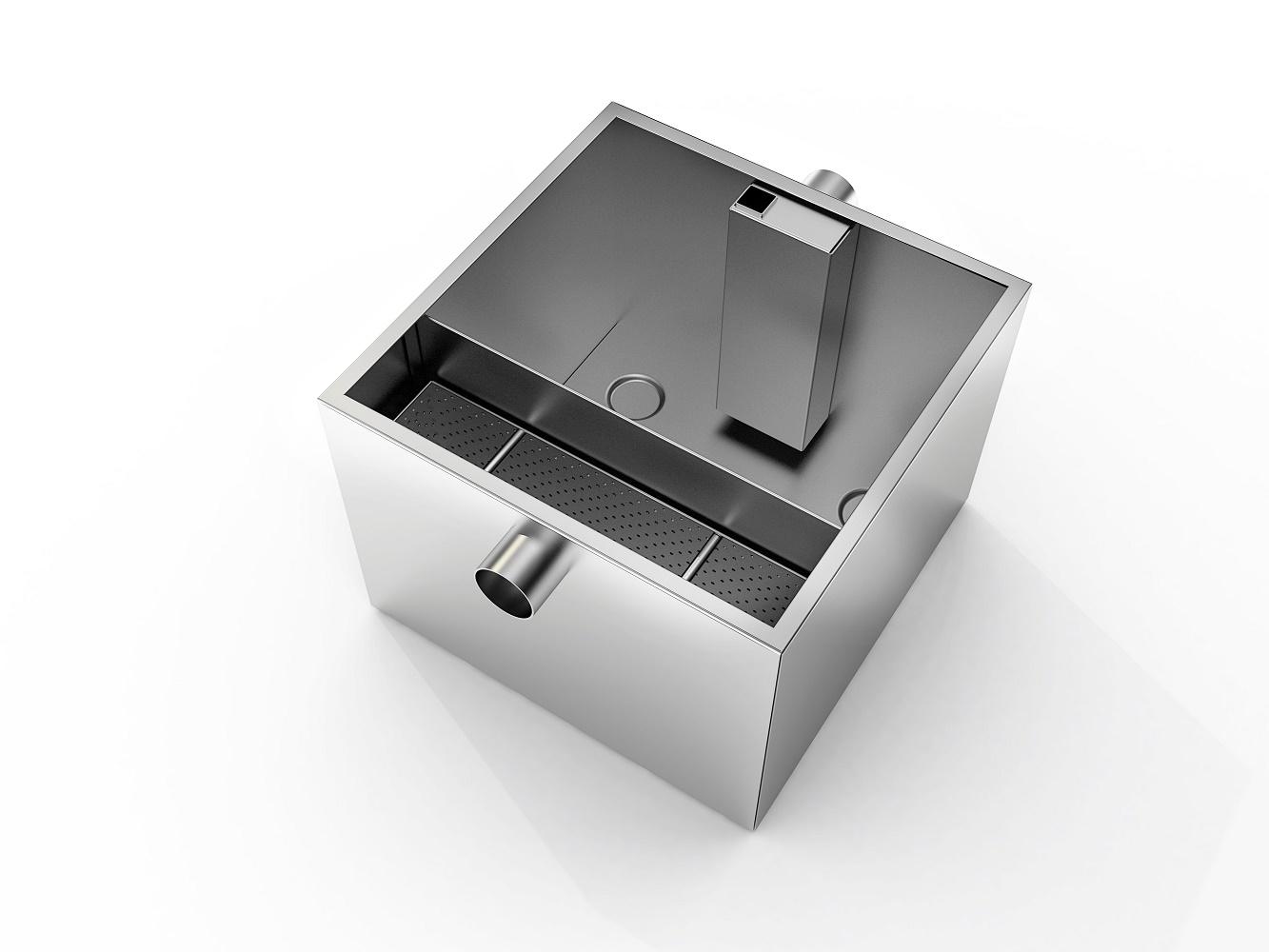 Vetafscheider RVS | 36 Liter | 9kg capaciteit