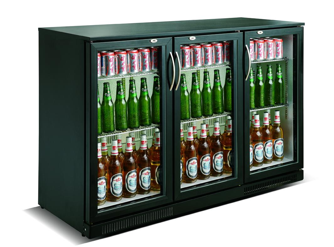 C.S. Barkoeling Zwart 3 Deuren | 298 Liter
