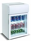 Mini Koelkast Glasdeur   75 Liter