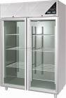 C.s. Koelkast 2 Glasdeuren Rvs | 1400 Liter