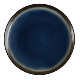 Olympia Nomi Ronde Tapascoupeborden Blauw-zwart 25,5cm
