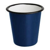 Olympia Emaille Beker Blauw 31cl