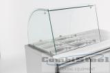 Koelwerkbank Glasopstand 2 Deuren
