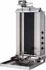 Klg 231-hg Doner Grill Electric, Top Motor,with Glass, 4 Burners Moving Body