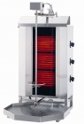 Klg 230 Doner Grill Electric, Top Motor,with Glass, 3 Burner