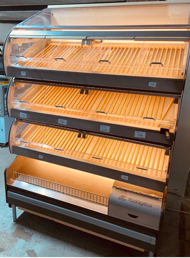 Brood Display met Verlichting