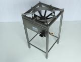 Kooktoestel 400 Rvs - Hoog - Aardgas