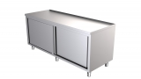 Rvs Werktafel Met Schuifdeuren 1000 x 600-line