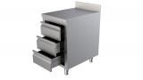 Werktafel Met Rand en Laden 500 x 700-line