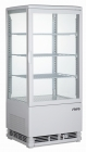 Saro Mini-koelvitrine Model SC 80 Wit