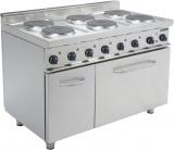 Saro Electrische Kookplaat Met Electrische Oven Model E7/cuet6le