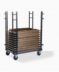 Dining Table Event Straight Trolley