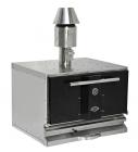 Houtskool Oven Zwart | 710 mm