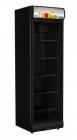 Koelkast 1 Glasdeur Volledig Zwart  | 382 Liter
