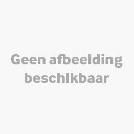 Bolero Aluminium/rotan Stoel Zwart | 4 Stuks