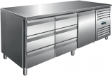 Saro Koelwerkbank Incl. Ladenset Met 2 x 3 Lades Model Kylja 3150 TN