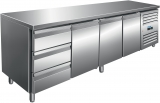 Saro Koelwerkbank Incl. Ladenset Met 3 Lades Model Kylja 4130 TN