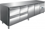 Saro Koelwerkbank Incl. Ladenset Met 2 x 2 Lades Model Kylja 4140 TN