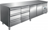 Saro Koelwerkbank Incl. Ladenset Met 2 x 3 Lades Model Kylja 4150 TN