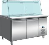 Koeltafel Met Glazen Top Model SG 2070