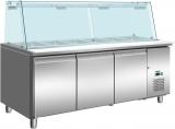 Koeltafel Met Glazen Top Model SG 3070