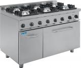 Gasfornuis Met Elektrische Oven Model E7 / Kupg6le