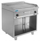 Elektrische Grill en Bakplaat Met Open Kast Model E7 / Kte2bar