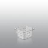Gastronormbak Polycarbonaat 1/6 GN 65 mm Diepte