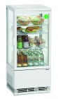Mini-koelvitrine 78l, Wit