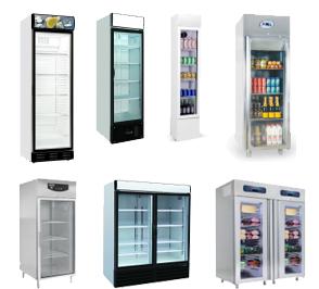 Display koelkasten