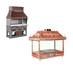 Houtskool Grill Apparatuur