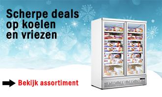 Scherpe deals op koelen en vriezen
