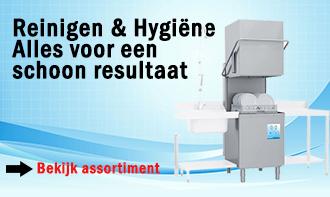 Reinigen & Hygiëne Alles voor een schoon resultaat